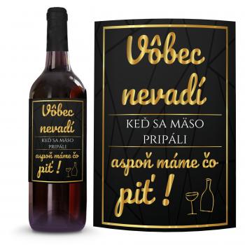 Víno Vôbec nevadí