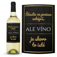 Víno Šťastie nekúpiš