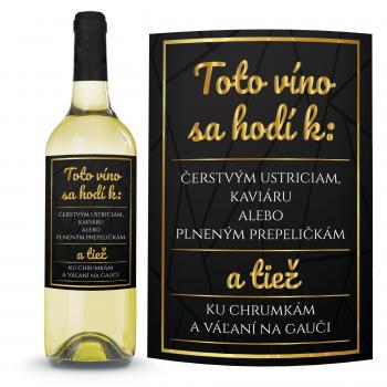 Víno Ku chrumkám