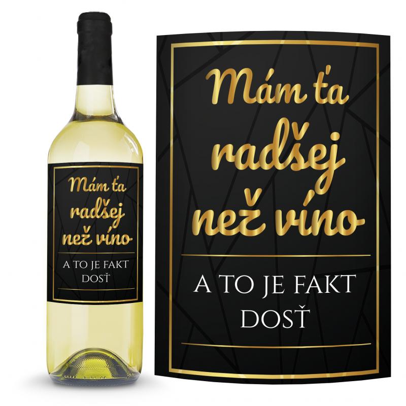 Víno Radšej než víno