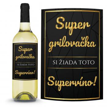 Víno Super grilovačka