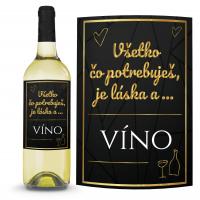 Víno Všetko čo potrebuješ